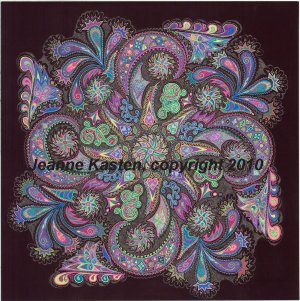 Mandala Dream I, copyright 2010
