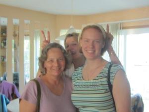 Jeanne, Sharron, Rosemary